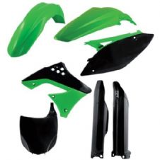 Full Acerbis Plastic Kit KXF 250 09-12 OEM Motocross Front Plate Fork Guards